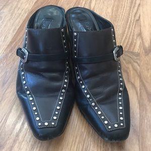 Brighton Shirt Heeled Shoes Size 8